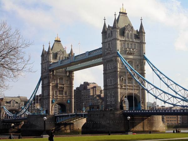 Een blik op de London Bridge